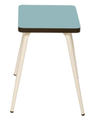 Blue Jade Marcel Stool