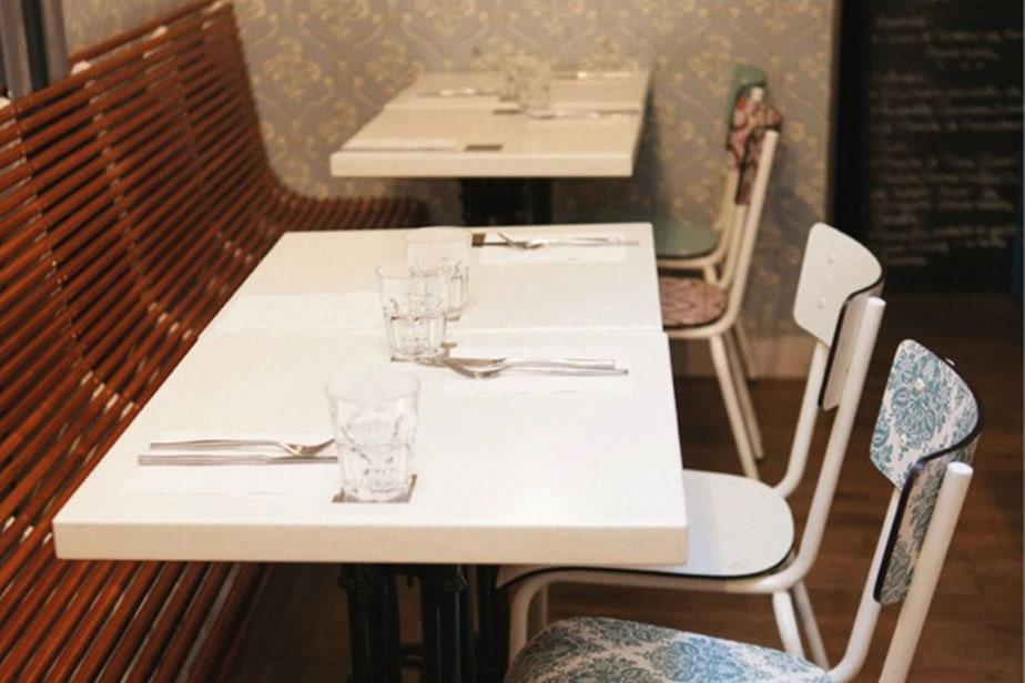 gino et rita chaise table restaurant