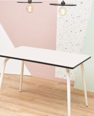 White Vera Table 120×70