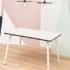 table bois acier