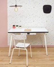 bureau formica blanc