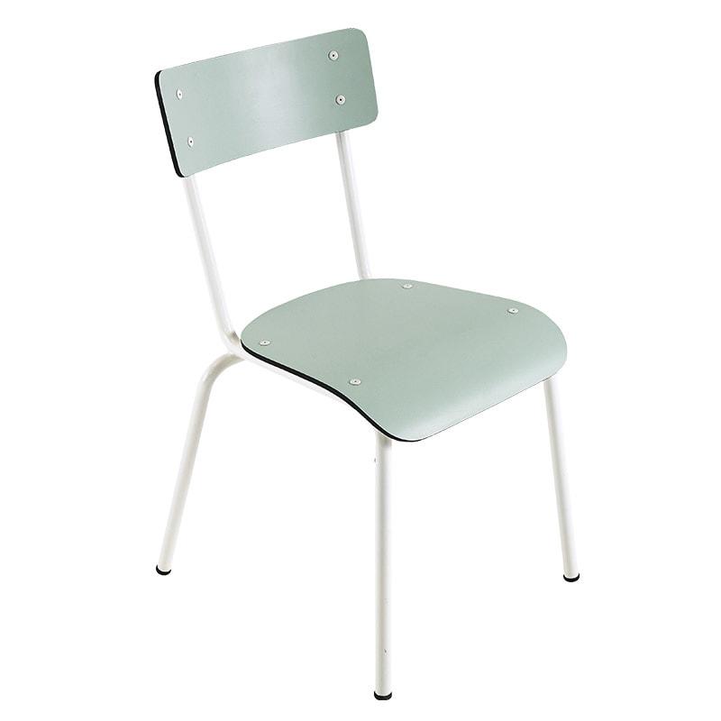 chaise suzie les gambettes vert menthe retro vintage adulte