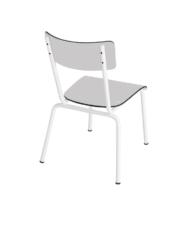 chaise gris enfant