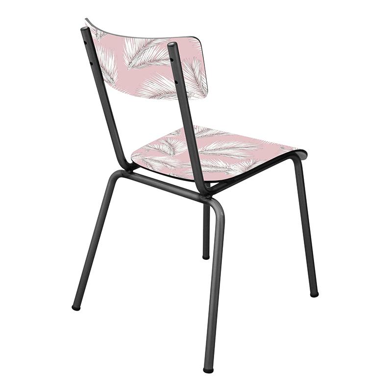chaise brut palme fifties