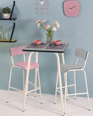 Light grey Suzie High Chair 75cm