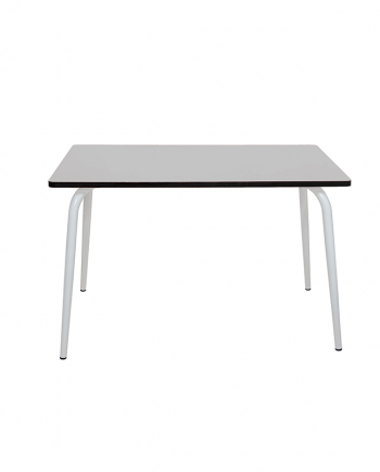 table gris perle design formica