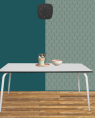 Light Grey Vera Table 160×80
