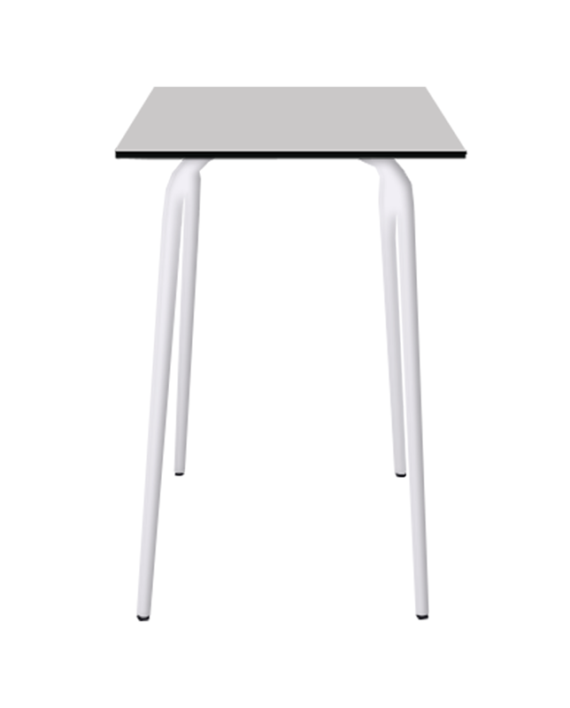 Light Grey Vera High Table 70x70