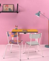 chaise-colette-gris-perle-et-bureau-romy-jaune-citron