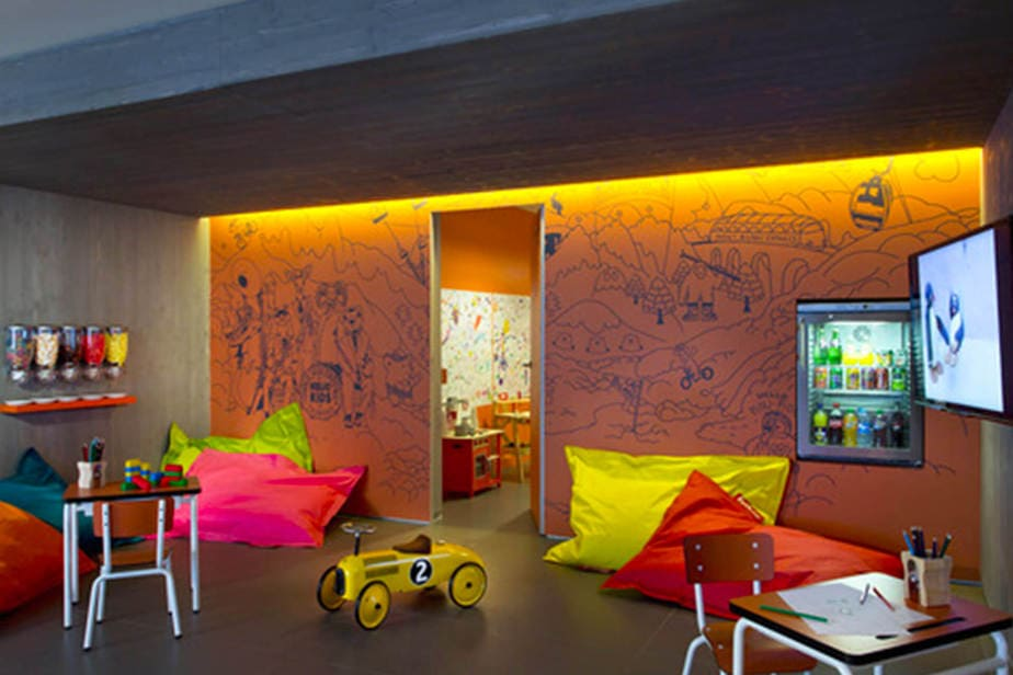 hotel heliopic chamonix salle repos