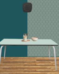 TABLE COULEUR MENTHE