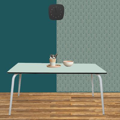 table manger tables design v ra 160x80 formica menthe. Black Bedroom Furniture Sets. Home Design Ideas