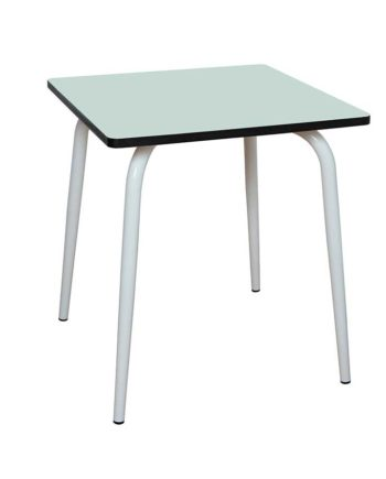 table formica 2 personnes menthe
