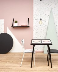 Ambience pictures confetis table 70×70