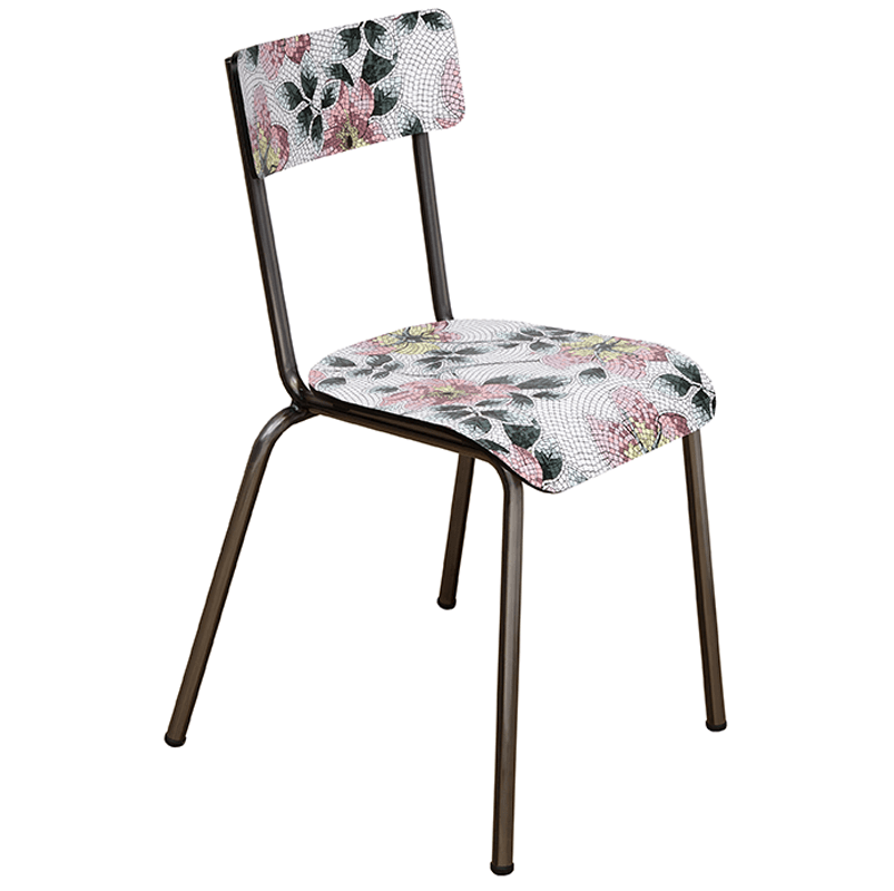Chaise retro adulte Suzie mosaique