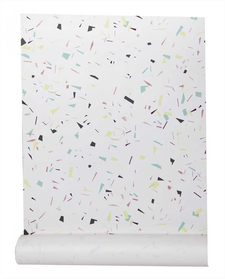 papiers peints papier peint intiss c me terrazzo confetti. Black Bedroom Furniture Sets. Home Design Ideas