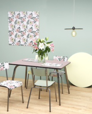 Powdery Pink Vera Table 120×70