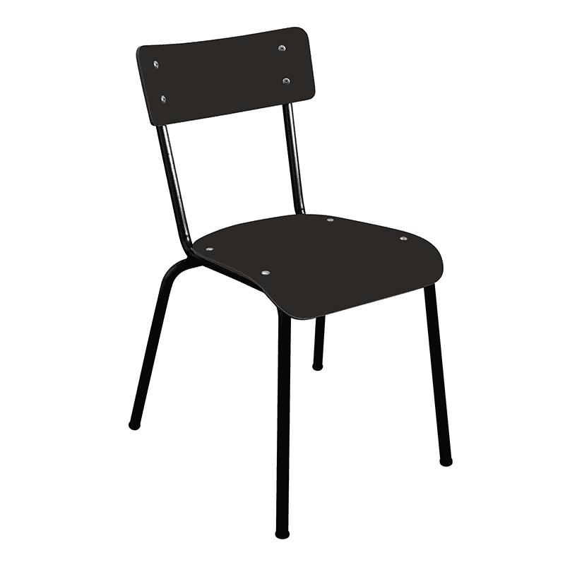 chaise noir pieds noirs pour restaurant
