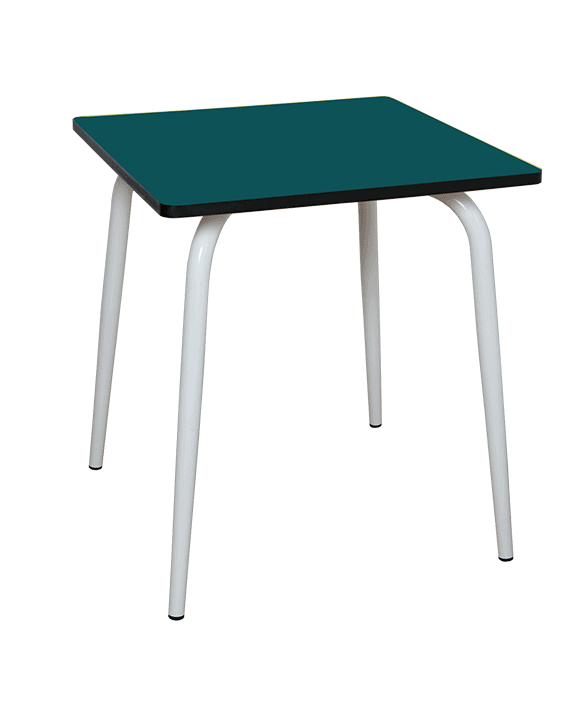 Table A Manger Tables Design Vera Carree 70x70 Formica Menthe