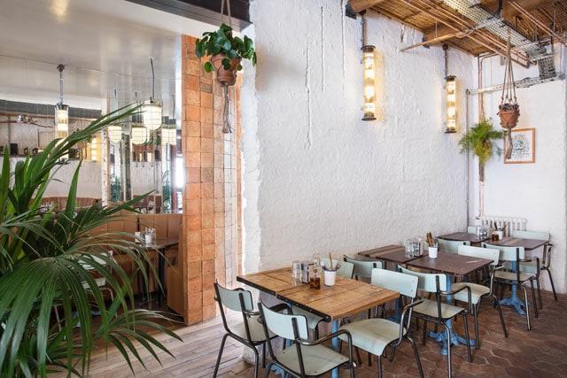 chaises design restaurant