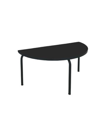 TABLE DEMI LUNE NOIRE