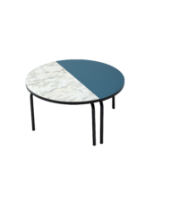 table basse demi lune