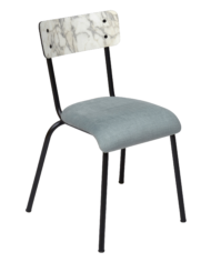 chaise velours