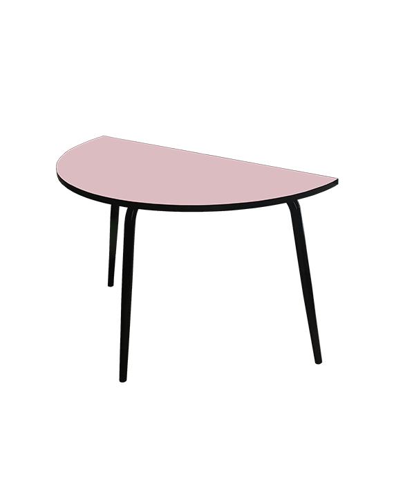 TABLE CUISINE DEMI LUNE