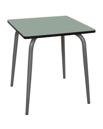 TABLE CUISINE KAKI PIEDS GRIS