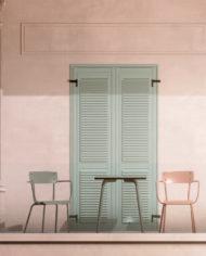 CÔTÉ BALCON -Chaises Suzie:Tables Vera-Terracota:Kaki (3) copie