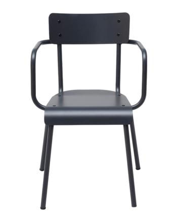 chaise exterieur métal
