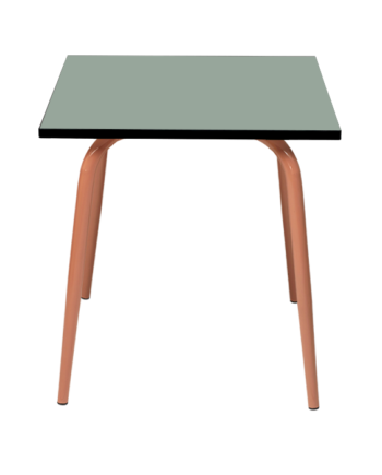 Table de jardin carré