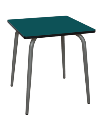 TABLE SALLE A MANGER BLEU CANARD
